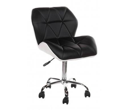 Cтул Trizor черный / белыйБарные стулья<br>Диаметр пятилучья: 45 см.<br>Высота спинки: 29 см.<br>
