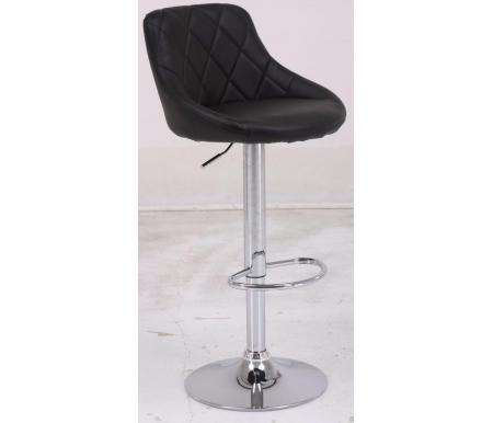 Барный стул BCR-102 blackБарные стулья<br>Барный стул BCR-102 регулируется по высоте. <br>Хромированный каркас оснащен удобной подставкой для ног.<br> <br>Сиденье и спинка обиты кожзаменителем.<br>