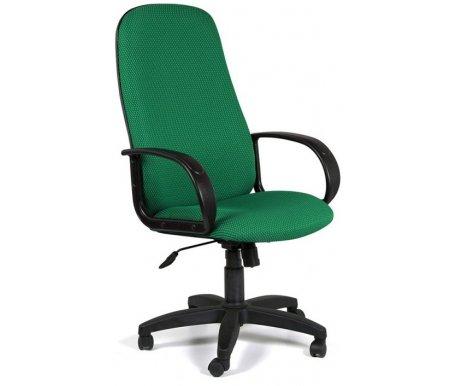 Компьютерное кресло 279 M Ткань JP15-4 черн.-зел.Компьютерные кресла<br>Широкий выбор современных обивочных материалов и цветовых решении позволит с легкостью подобрать подходящую к Вашему интерьеру модель кресла 279. <br> Комплектация: <br> <br> <br>  - механизм регулировки кресла по высоте;<br> <br>  - механизм наклона и фиксации кресла в рабочем положении;<br> <br>  - механизм регулировки жесткости качания. <br>    <br>   <br>    - материал подлокотников пластик.<br>   <br>    - материал крестовины пластик.<br>   <br>    - вес 16,3 кг.<br>   <br> <br> <br> <br>  <br> <br> <br>Кресло поставляется в разобранном виде.<br>