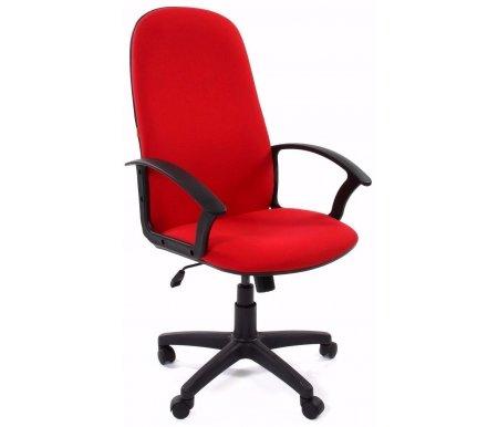 Компьютерное кресло 289 New красноеКомпьютерные кресла<br>Материал подлокотников: пластик.<br>Материал крестовины: пластик.<br><br>Материал обивки:ткань SL.<br><br>Механизм качания: есть.<br>