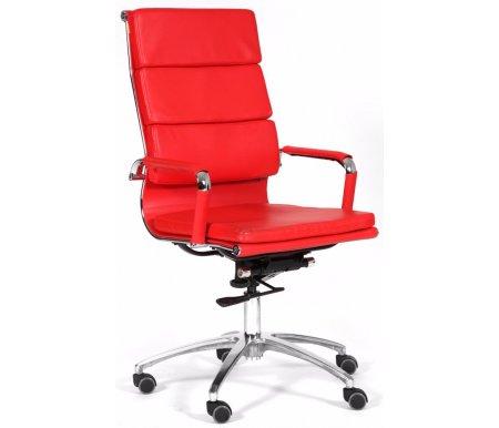 Компьютерное кресло Chairman 750 красноеКомпьютерные кресла<br>Механизм регулировки жесткости качания: есть.<br> <br>Материал подлокотников: металл с накладками из экокожи.<br> <br>Материал крестовины: хромированный металл.<br> <br>Материал обивки: экокожа.<br> <br>Механизм качания: есть.<br> <br>Объем упаковки: 0,35 куб. м.<br> <br>Вес: 11,1 кг.<br>