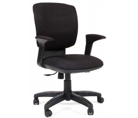 Компьютерное кресло 810 Ткань черная (SX79-30)Компьютерные кресла<br>Компьютерное кресло 810 комплектуется:<br> <br>- механизмом регулировки кресла по высоте;<br> <br>- механизмом наклона и фиксации кресла в рабочем положении;<br> <br>- механизмом регулировки жесткости качания.<br>