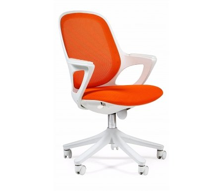 Компьютерное кресло 820 white Акрил SW-04Компьютерные кресла<br>Материал подлокотников: пластик.<br> <br>Материал крестовины : пластик.<br>