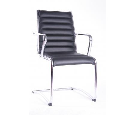 Компьютерное кресло 9018 L-3 Н черноеКомпьютерные кресла<br>Материал подлокотников: металл хромированный.<br> <br>Материал крестовины: металл хромированный.<br> <br>Материал обивки: кожа.<br>