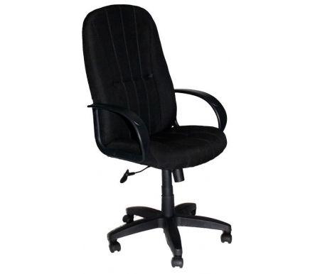Компьютерное кресло 902F-1 черный B14Компьютерные кресла<br>Мягкий наполнитель спинки и сиденья - поролон плотностью не менее30 кг/куб.м.<br>Материал подлокотников: пластик.<br><br>Материал крестовины: пластик.<br><br>Материал обивки: ткань.<br><br>Вес: 16,5 кг.<br>