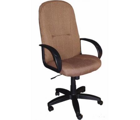 Компьютерное кресло 902F-1 коричневыйКомпьютерные кресла<br>Мягкий наполнитель спинки и сиденья - поролон плотностью не менее30 кг/куб.м.<br>Материал подлокотников: пластик.<br><br>Материал крестовины: пластик.<br><br>Материал обивки: ткань.<br><br>Вес: 16,5 кг.<br>