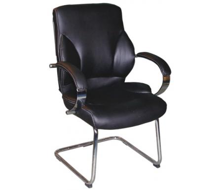 Компьютерное кресло Н-9582 L-3К черноеКомпьютерные кресла<br>Материал подлокотников: кожа.<br>Материал крестовины: хромированный металл.<br><br>Материал обивки: кожа первой категории с перфорированными вставками.<br><br>Механизм качания: есть.<br><br>Вес: 19 кг.<br>