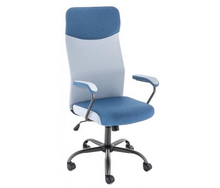 Купить Компьютерное кресло Woodville, Aven синее, blue fabric / light blue fabri