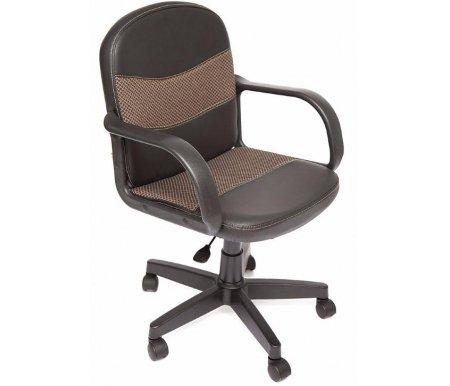 Компьютерное кресло Baggi (Багги) черный / бежевыйКомпьютерные кресла<br>- Материал крестовины: Пластик<br>   <br>    - Материал обивки: Ткань<br>   <br>    - Механизм качания: без механизма качания кресла<br>   <br>    - Подголовник: Без подголовника<br>   <br>    Максимальная высота - 109 см.<br>