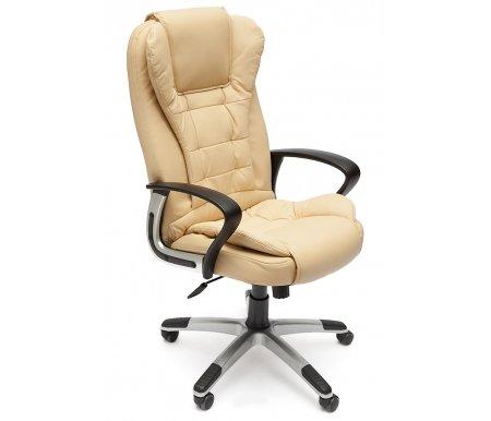 Купить Компьютерное кресло Тетчер, Baron (Барон) бежевый / бежевый перфорированный, бежевый (36-34) / бежевый перфорированный (36-34/06)