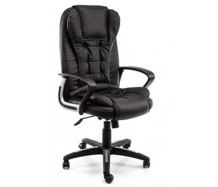 Купить Компьютерное кресло Тетчер, Baron (Барон) черный / черный перфорированный, черный (36-6) / черный перфорированный (36-6/06)