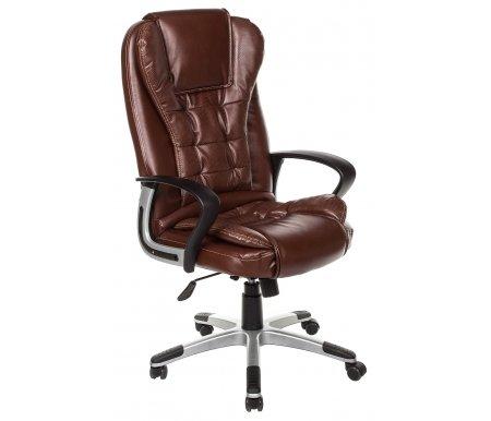 Купить Компьютерное кресло Тетчер, Baron (Барон) коричневый 2 tone / коричневый перфорированный 2 tone