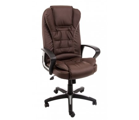 Купить Компьютерное кресло Тетчер, Baron (Барон) коричневый / коричневый перфорированный, коричневый (36-36) / коричневый перфорированный (36-36/06)