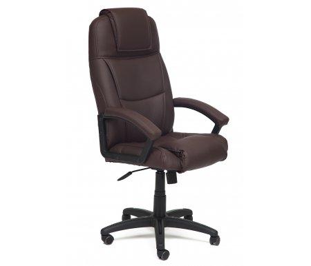 Купить Компьютерное кресло Тетчер, Bergamo (Бергамо) коричневый (36-36)