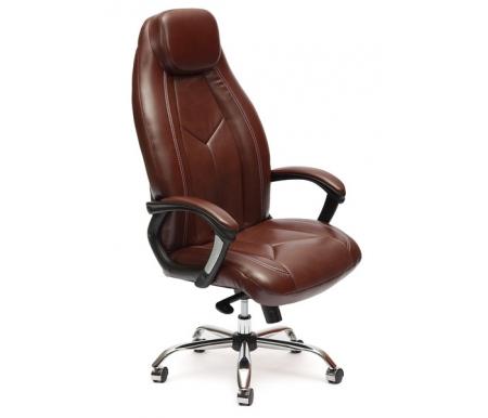 Купить Компьютерное кресло Тетчер, Boss люкс коричневый 2 tone