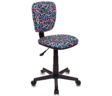 Купить Компьютерное кресло Бюрократ, Бюрократ CH-204NX/Pencil-BL синие карандаши, Россия