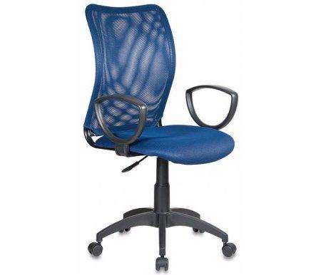 Компьютерные кресла Бюрократ CH-599 / DB / TW-10N темно-синее  Компьютерное кресло Бюрократ