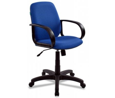 Компьютерные кресла Бюрократ CH-808-Low / Blue синее  Компьютерное кресло Бюрократ