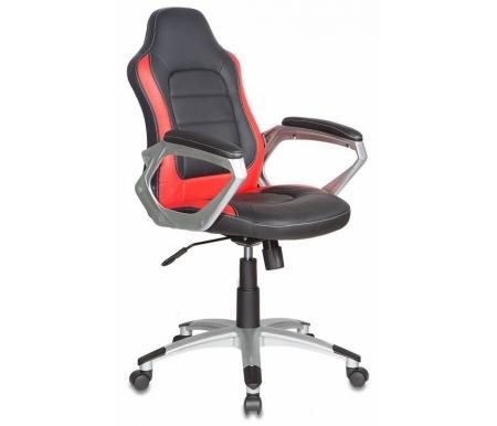 Здесь можно купить Бюрократ CH-825S / Black+Rd черное / красное  Компьютерное кресло Бюрократ Компьютерные кресла