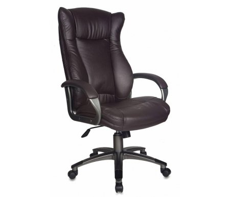 Купить Компьютерное кресло Бюрократ, Бюрократ CH-879DG / Coffee темно -коричневое, Россия, темно - коричневый