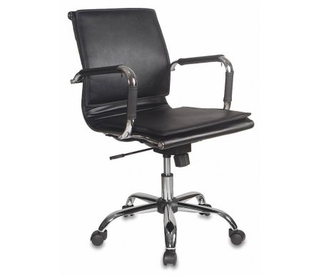 Купить Компьютерное кресло Бюрократ, Бюрократ CH-993-Low / Black черное, Россия, черный