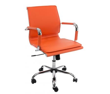 Купить Компьютерное кресло Бюрократ, Бюрократ CH-993-Low / orange оранжевое, Россия, оранжевый