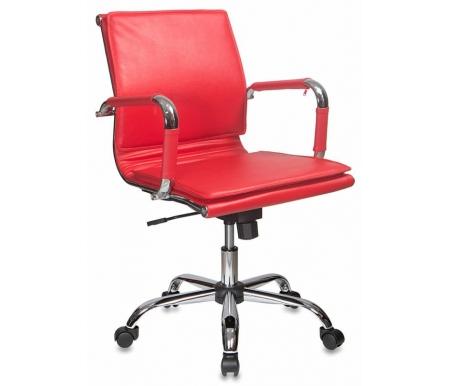 Купить Компьютерное кресло Бюрократ, Бюрократ CH-993-Low / Red красное, Россия, красный