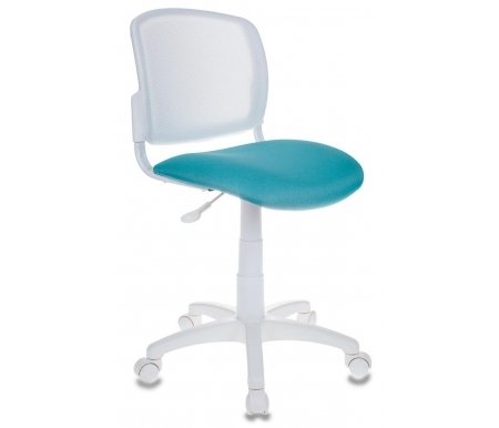 Купить Компьютерное кресло Бюрократ, Бюрократ CH-W296NX/15-175 бирюзовое, Россия