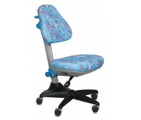 Бюрократ KD-2 / BL / aqua голубое  Компьютерное кресло Бюрократ