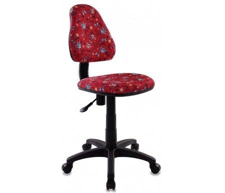 Бюрократ KD-4/Anchor-RD красные якоря  Компьютерное кресло Бюрократ