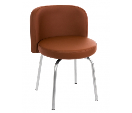 Купить Компьютерное кресло Бюрократ, Бюрократ KF-2 / Or-07 коричневое, Россия, коричневый