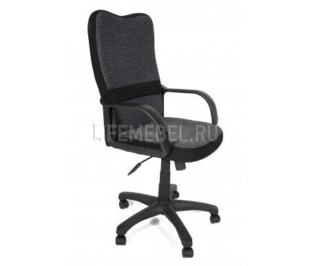 Компьютерное кресло CH757Компьютерные кресла<br>Материал крестовины: пластик.<br>  <br>  Материал обивки: ткань серая с черными кантами.<br> <br>  Материал подлокотников: пластик.<br> <br>  Механизм качания:с фиксацией в крайних положениях.<br> <br>  Подголовник: без подголовника.<br>
