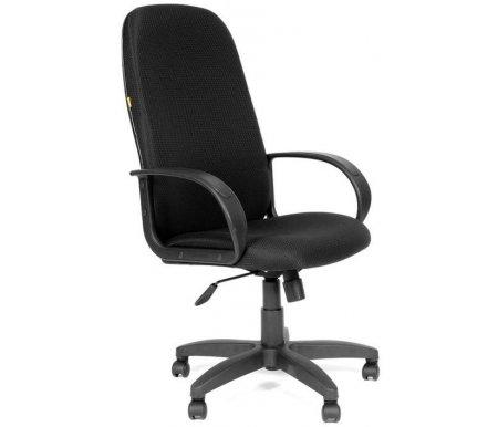 Компьютерное кресло Chairman 279 С-3 черныйКомпьютерные кресла<br>Широкий выбор современных обивочных материалов и цветовых решении позволит с легкостью подобрать подходящую к Вашему интерьеру модель кресла 279. <br> Комплектация: <br> <br> <br>  - механизм регулировки кресла по высоте;<br> <br>  - механизм наклона и фиксации кресла в рабочем положении;<br> <br>  - механизм регулировки жесткости качания; <br>    <br>   <br>    - материал подлокотников пластик;<br>   <br>    - материал крестовины пластик.<br>   <br> <br> <br> <br>  <br> <br> <br>Кресло поставляется в разобранном виде.<br>