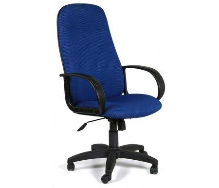 Компьютерное кресло Chairman 279 TW-10 синийКомпьютерные кресла<br>Широкий выбор современных обивочных материалов и цветовых решении позволит с легкостью подобрать подходящую к Вашему интерьеру модель кресла 279. <br> Комплектация: <br> <br> <br>  - механизм регулировки кресла по высоте;<br> <br>  - механизм наклона и фиксации кресла в рабочем положении;<br> <br>  - механизм регулировки жесткости качания;<br> <br>  - материал подлокотников пластик; <br>    - материал крестовины пластик.<br>   <br> <br> <br> <br>  <br> <br> <br>Кресло поставляется в разобранном виде.<br>