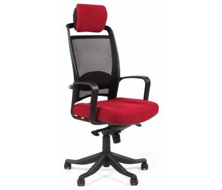 Компьютерное кресло Chairman 283 ткань бордовая (26-23)Компьютерные кресла<br>В представленной модели компьютерного кресла 283присутствует механизм качания повышенной комфортности с возможностью фиксации в нескольких положениях.<br>