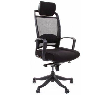Компьютерное кресло Chairman 283 ткань черная (26-28)Компьютерные кресла<br>В представленной модели компьютерного кресла 283присутствует механизм качания повышенной комфортности с возможностью фиксации в нескольких положениях.<br>