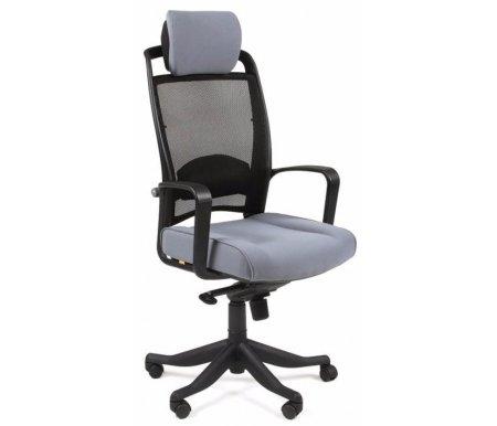 Компьютерное кресло Chairman 283 ткань серая (26-25)Компьютерные кресла<br>В представленной модели компьютерного кресла 283присутствует механизм качания повышенной комфортности с возможностью фиксации в нескольких положениях.<br>