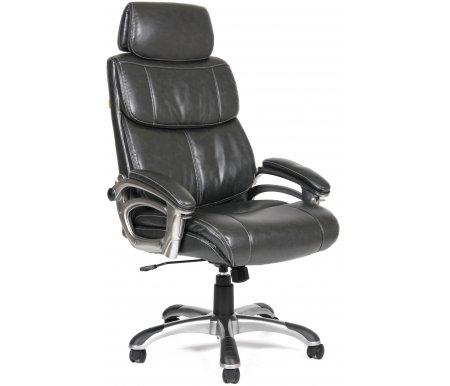 Компьютерное кресло Chairman 433 темно-серыйКомпьютерные кресла<br>Компьютерное кресло 433 комплектуется: <br>- механизмом регулировки кресла по высоте;<br> <br>- механизмом наклона и фиксации;<br> <br>- механизмом регулировки жесткости качания.<br> <br>Материал крестовины -пластик с напылением под металл и пластиковыми накладками.<br> <br> <br>  <br> <br> <br>Объем упаковки -0,18 куб. м.<br> <br>Вес -22,3 кг.<br>