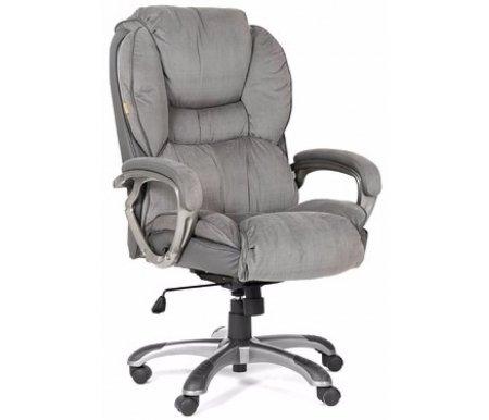 Компьютерное кресло Chairman 434 серыйКомпьютерные кресла<br>В данной модели компьютерного кресла 434 присутствует механизм качания с возможностью фиксации кресла в рабочем положении. <br>Материал крестовины -пластик с напылением под металл и пластиковыми накладками.<br> <br>Материал обивка - микрофибра.<br> <br>Вес - 25,4 кг<br> <br>Объем упаковки -0,26 куб. м<br>