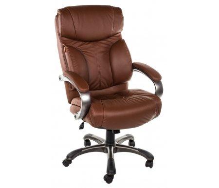 Компьютерное кресло Chairman 435 коричневыйКомпьютерные кресла<br>Материал крестовины -пластик с напылением под металл и пластиковыми накладками. <br>Вес - 22,8 кг.<br> <br>Объем упаковки - 0,22 куб.м.<br>