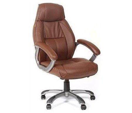 Компьютерное кресло Chairman 436 кориневоеКомпьютерные кресла<br>Механизм качания:с возможностью фиксации в рабочем положении.<br>Материал подлокотников: пластик с накладками из кожи.<br><br>Материал крестовины: пластик.<br><br>Материал обивки: натуральная кожа.<br><br>Объем упаковки: 0,21 куб. м.<br><br>Вес: 22,4 кг.<br>
