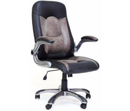 Компьютерное кресло Chairman 439 черный / серыйКомпьютерные кресла<br>Материал подлокотников: пластик с накладками из микрофибры.<br>Материал обивки: экокожа / микрофибра.<br><br>Механизм качания: есть.<br><br>Вес: 20,1 кг.<br>