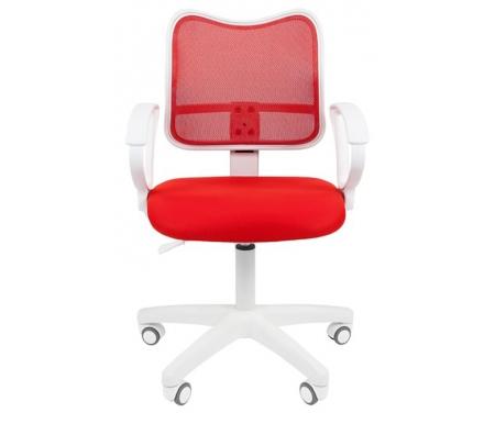 Купить Компьютерное кресло Chairman, Chairman 450 LT белый пластик TW-19 / TW-69 красное, Россия