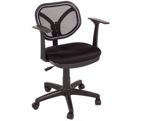 Компьютерное кресло Chairman 450 NEW  TW-01 / TW-11Компьютерные кресла<br>Офисное кресло СН 450 NEW - стильное современное кресло оператора с оригинальной спинкой, выполненной из сетчатого акрила. <br> <br>  Комплектация:<br> <br>  - механизм регулировки кресла по высоте;<br> <br>  - пружинный механизм постоянной поддержки спины;<br> <br>  - регулировка спинки по высоте.<br><br>  <br>    <br>      <br>    Материал подлокотников: пластик<br>  <br>    Материал крестовины: пластик<br>  <br>    Материал обивки: ткань / сетчатый акрил<br>  <br> <br> <br> <br>  <br> <br> <br>Кресло поставляется в разобранном виде.<br>