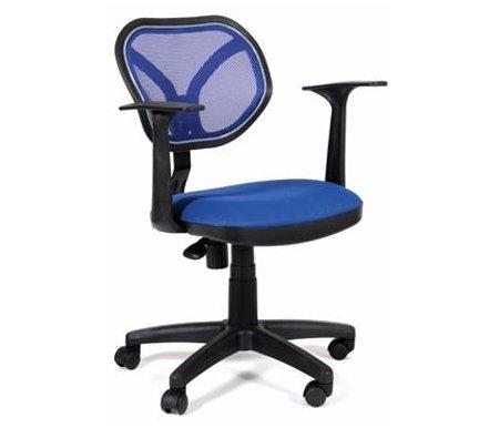 Компьютерное кресло Chairman 450 NEW   TW-05 / TW-10Компьютерные кресла<br>Офисное кресло СН 450 NEW - стильное современное кресло оператора с оригинальной спинкой, выполненной из сетчатого акрила. <br> <br>  Комплектация:<br> <br>  - механизм регулировки кресла по высоте;<br> <br>  - пружинный механизм постоянной поддержки спины;<br> <br>  - регулировка спинки по высоте.<br><br>  <br>    <br>      <br>    Материал подлокотников: пластик<br>  <br>    Материал крестовины: пластик<br>  <br>    Материал обивки: ткань / сетчатый акрил<br>  <br> <br> <br> <br>  <br> <br> <br>Кресло поставляется в разобранном виде.<br>