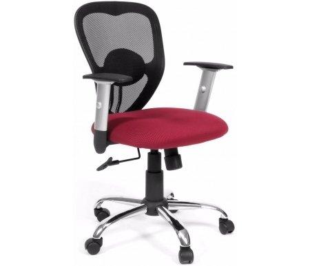 Компьютерное кресло Chairman 451 TW-13Компьютерные кресла<br>Современные износоустойчивые материалы спинки и сидения – ткань TW и сетчатый акрил, стильное сочетание серебристых и черных деталей, каплевидная форма спинки, оригинальное декоративное крепление валика поясничной поддержки, выполненное из хрома - вот характерные черты офисного кресла CH 451<br><br><br>Материал подлокотников: пластик.<br><br>Материал крестовины: хромированный металл.<br>Вес 12,4 кг. <br> <br>  <br> <br> <br>Кресло поставляется в разобранном виде.<br>