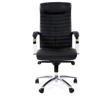Купить Компьютерное кресло Chairman, Chairman 480 кожа / кожзам / черное, Россия