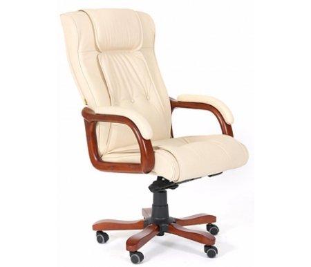 Компьютерное кресло Chairman 653 бежевоеКомпьютерные кресла<br>Материал подлокотников:дерево с кожаными накладками. <br><br> <br>Материал крестовины:металл с накладками из натурального дерева.<br> <br>Цвет дерева:темный орех.<br> <br>Механизм качания:есть.<br> <br>Объем упаковки: 0,33 куб. м.<br> <br>Вес: 28,5 кг.<br>