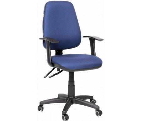 Компьютерное кресло Chairman 661 15-03Компьютерные кресла<br>Эргономичная спинка офисного кресла CH 661 с изменяемым углом наклона повторяет форму спины и, в сочетании с прочными Т-образными подлокотниками, позволяет сохранить правильное положение при сидении. Также спинка фиксируется в любом желаемом положении, что очень важно при длительной статичной работе. Обивка кресла – полиэстер. Это легкое быстросохнущее и износостойкое синтетическое волокно, которое прекрасно сохраняет форму, устойчиво к световому и тепловому воздействию. <br><br><br>Материал подлокотников: пластик.<br><br>Материал крестовины: пластик.<br><br>Вес 12,7 кг.<br><br> <br>  <br> <br> <br>Стул поставляется в разобранном виде.<br>