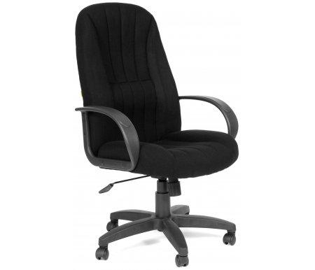 Компьютерное кресло Chairman 685  TW-11 черныйКомпьютерные кресла<br>Отличительной чертой офисного кресла CH 685 являются ярко выраженная область поясничной поддержки и продольные рельефы на спинке и сидении кресла. Эргономичные формы, практичные материалы и возможность использования ее как в классических, так и современных интерьерах делают модель привлекательной для руководителей, ценящих надежность, удобство и функциональность рабочего места. Широкий спектр современных обивочных материалов этой модели позволяет успешно решать задачи сочетаемости с самыми разнообразными интерьерными разработками. <br><br><br>Материал подлокотников: пластик.<br><br>Материал крестовины : пластик.<br><br>Материал обивки: ткань.<br><br> <br>  <br> <br> <br>Кресло поставляется в разобранном виде.<br>